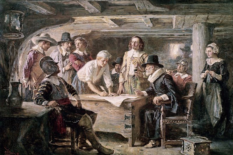 Democratic characteristics of plymouth colony
