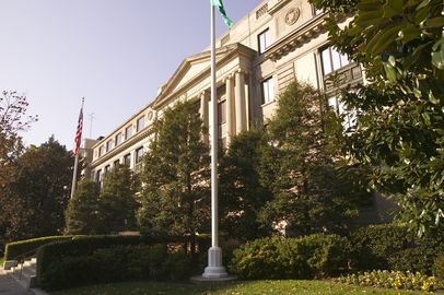 Photograph of National Geographic headquarters