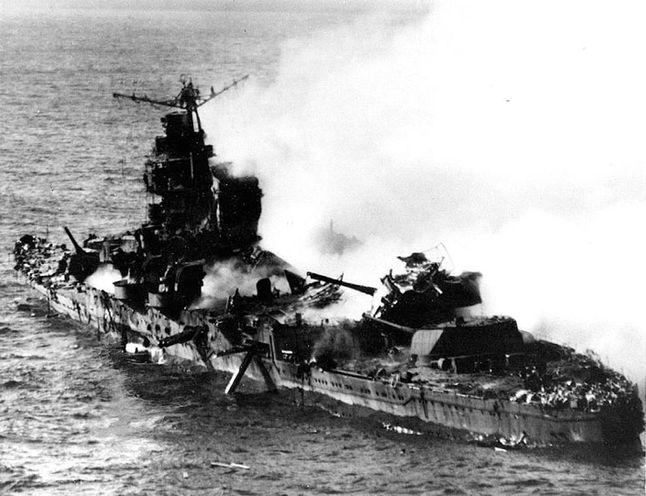 Mikuma at Midway