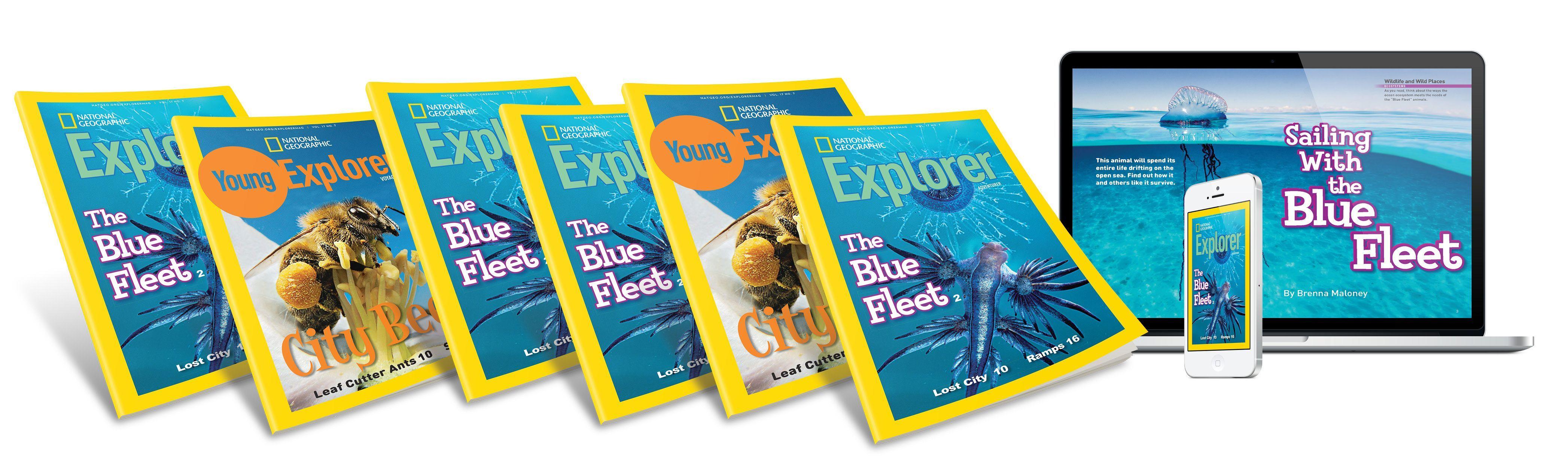 Explorer Magazine National Geographic Society