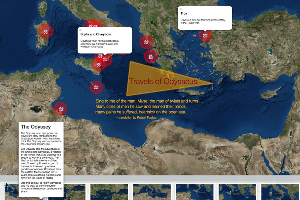 Travels of Odysseus | National Geographic Society