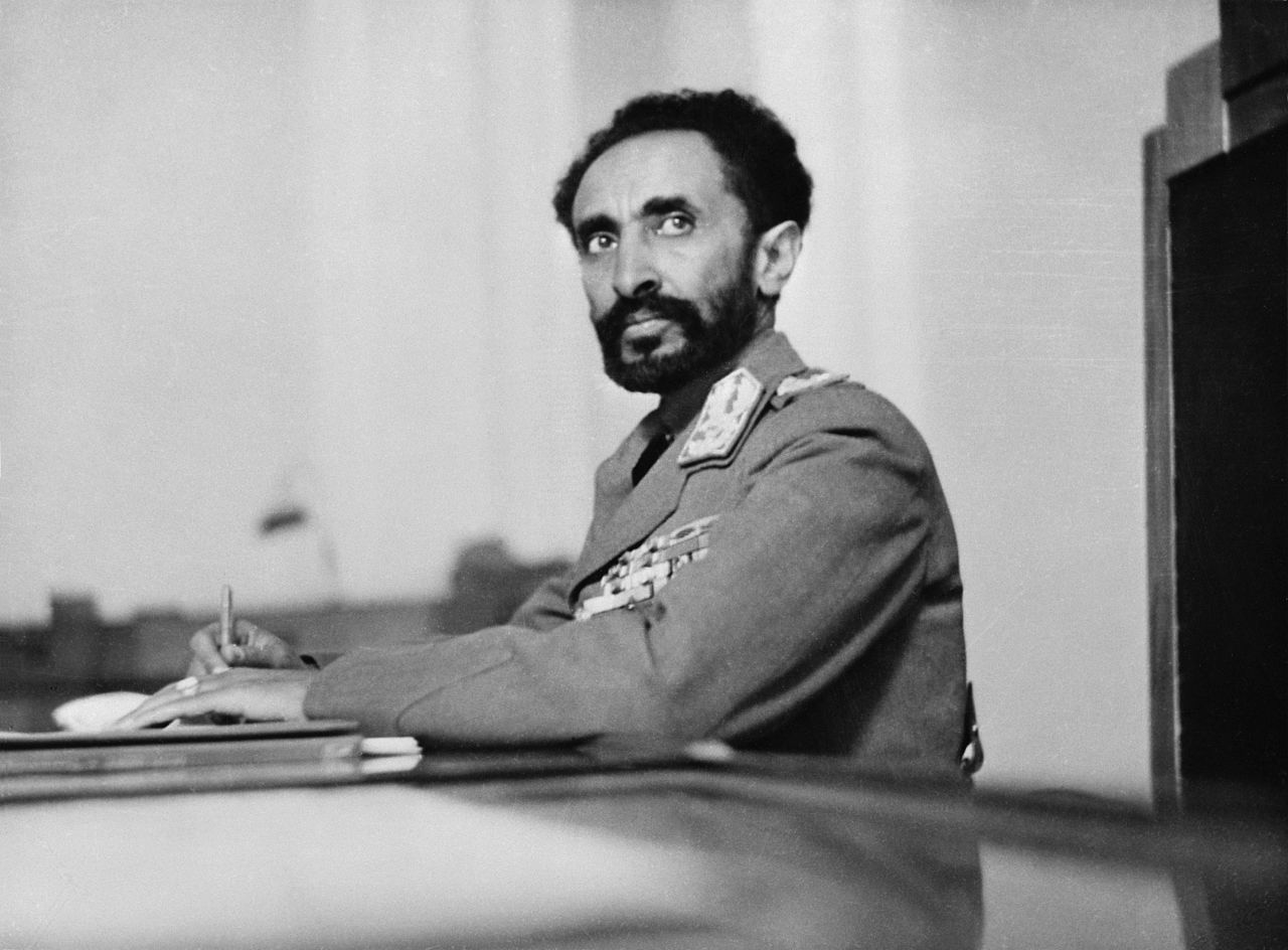 Image result for haile selassie