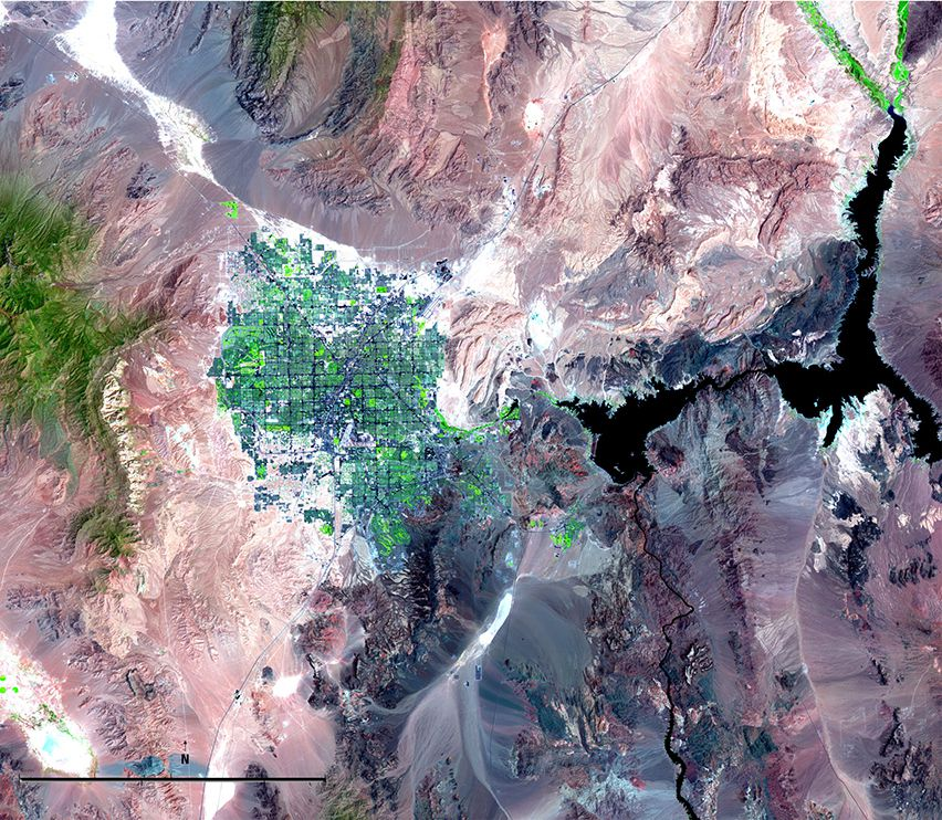 Satellite Imagery And Change Over Time National Geographic Society - National geographic world satellite map