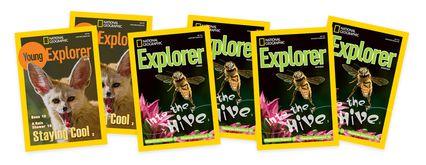 Explorer Magazine Covers