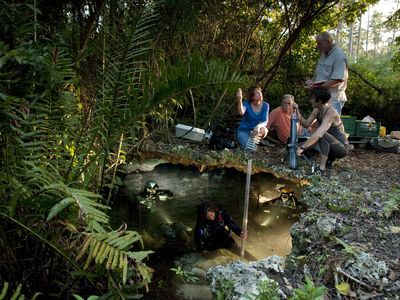 Blue Holes team preparing for expedition