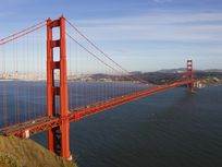 Photo of the Golden Gate Bridge.
