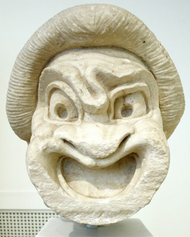 Greek Theater Mask