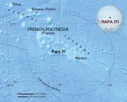Map of Rapa Iti