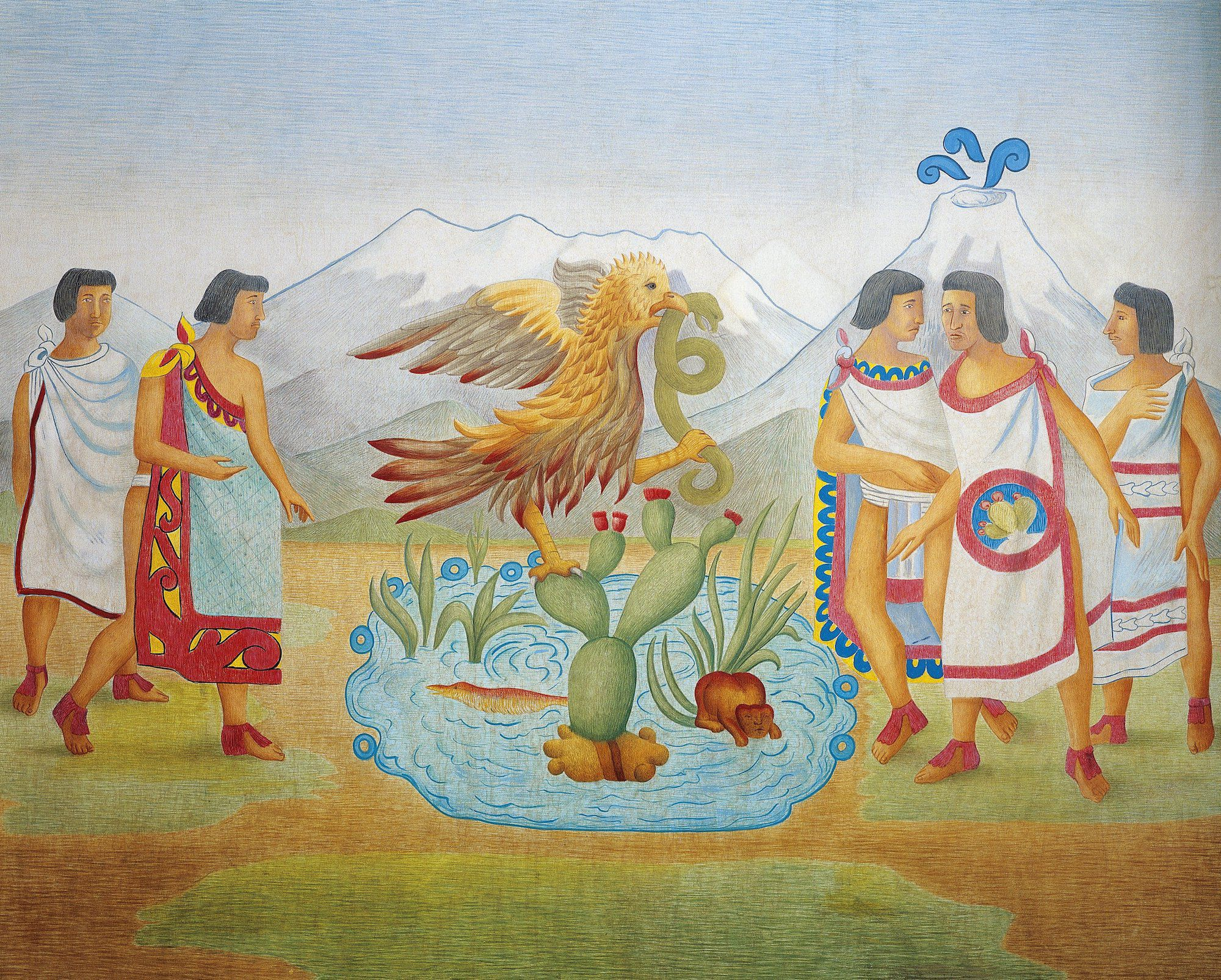 Tenochtitlan National Geographic Society