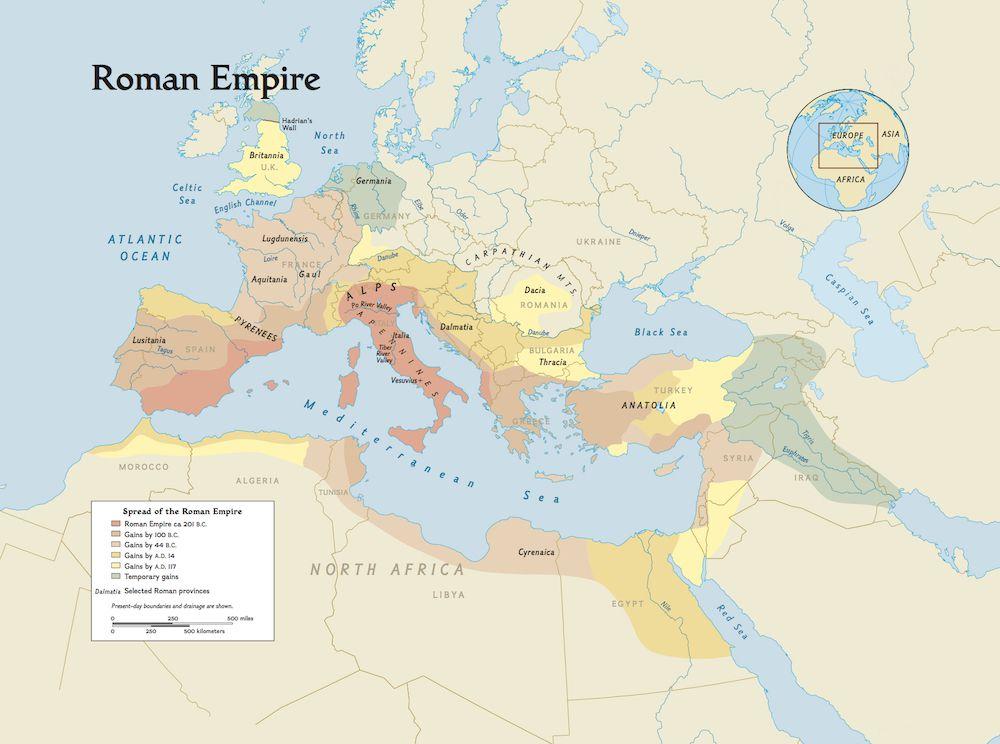 roman empire history - 1000×744