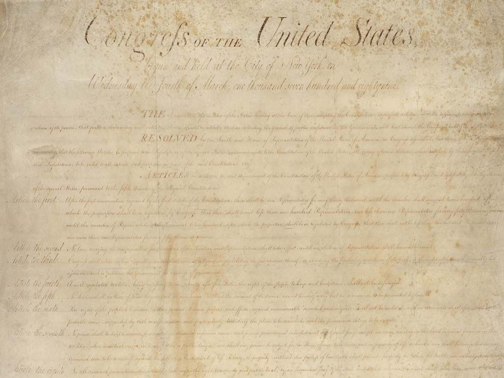 bill of rights day national geographic society