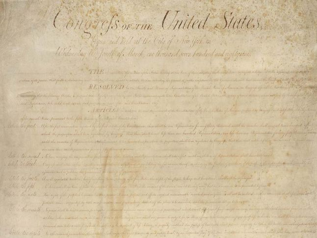 photo regarding Bill of Rights Printable titled Monthly bill of Legal rights Working day Countrywide Geographic Lifestyle
