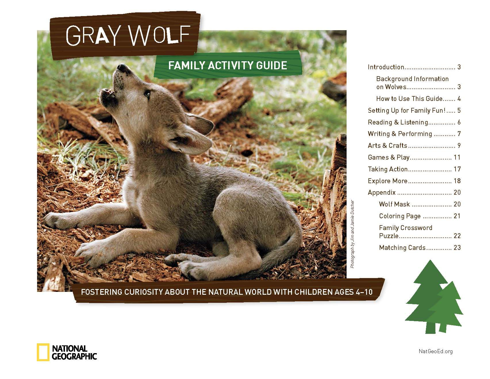 Gray Wolf Family Activity Guide