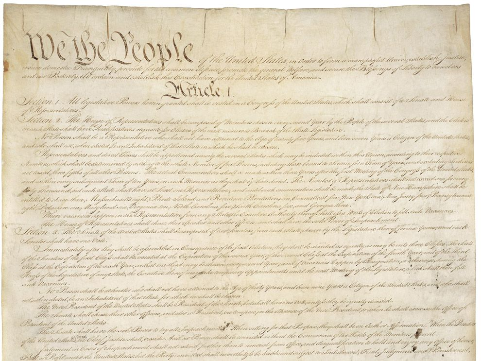 a constitution for the few