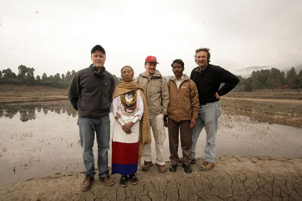 Photo: Enduring Voices Team in India