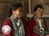 Speakers of a ''hidden'' language speak with researchers.