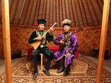 Photo: Viktor Batyrovich Okchayev and Dmitriy Sergejevich