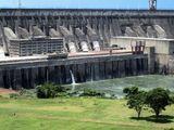Itaipu hydropower dam, Brazil